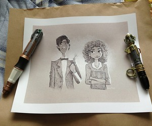 disney, doctor who, and fanart image