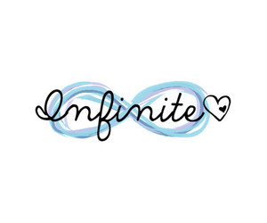infinite, love, and heart image