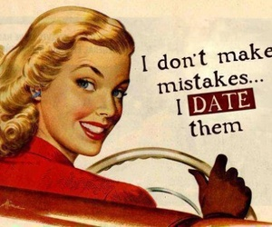 date, funny, and mistakes image