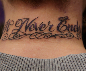 tattoo, it never ends, and bmth image
