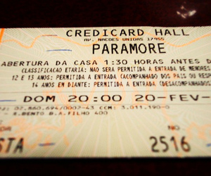 concert, paramore, and show image