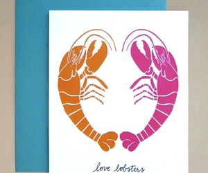 lobster, pretty, and stationary image