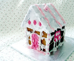 gingerbread house and house image