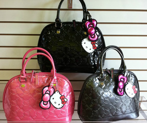 hello kitty hand bag image