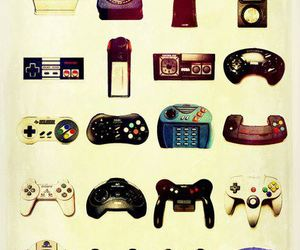 game, video games, and vintage image