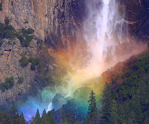 beautiful, rainbow, and nature image