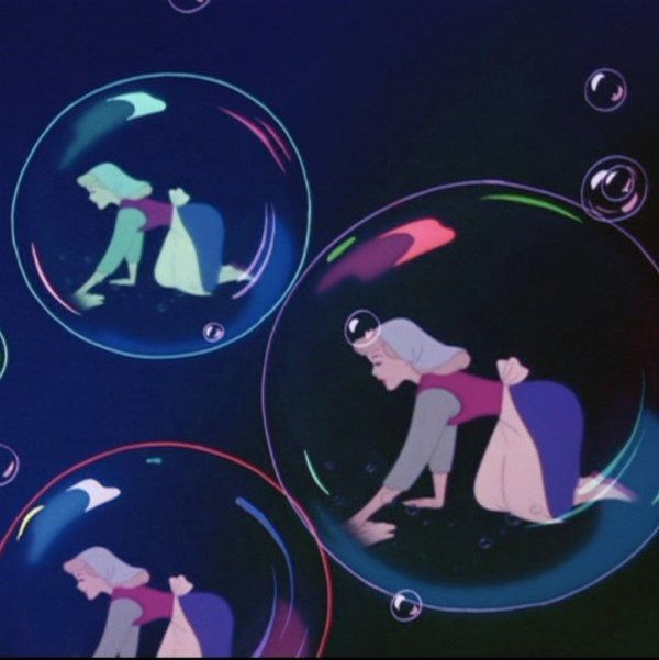 bubbles, cinderella, and princess image