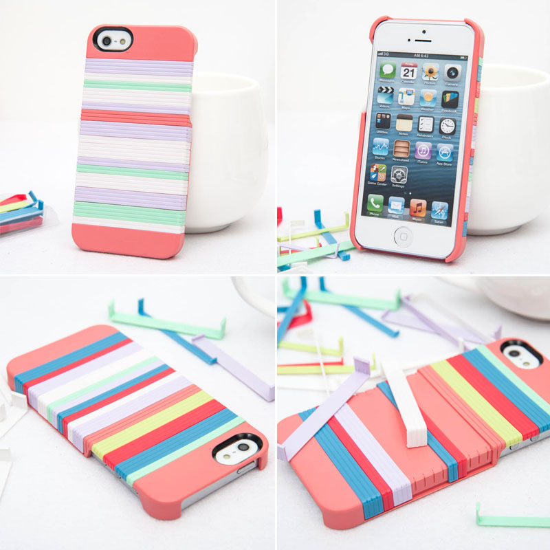 Grdx00138 Diy Rainbow Colorful Case For Iphone 5 On Luulla