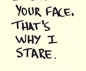 quote, face, and like image