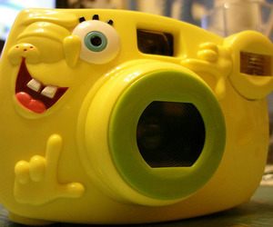 camera, spongebob, and bob esponja image
