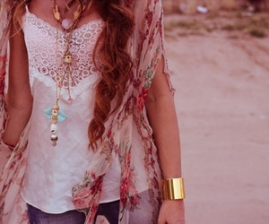 beauty, clothes, and jewelry image