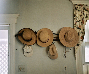 hat and vintage image