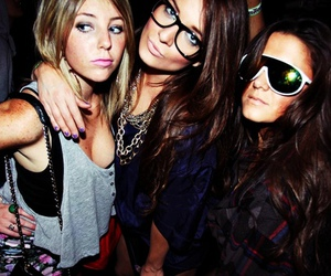 girl, fashion, and party image