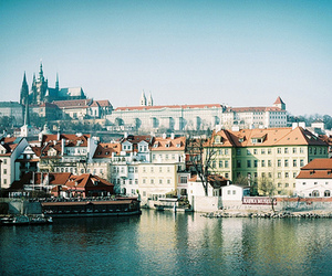 prague, city, and vintage image