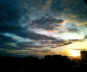 blue, dusk, and clouds image