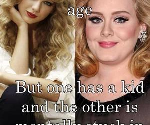 Adele and Taylor Swift image