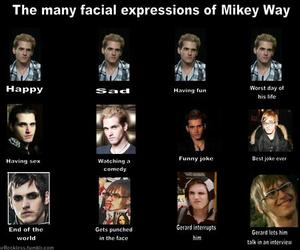 mcr, mikey way, and my chemical romance image