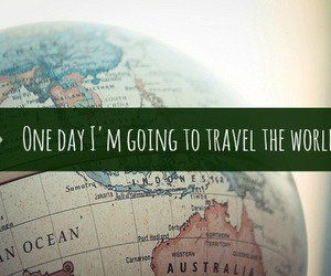one day, travel, and world image