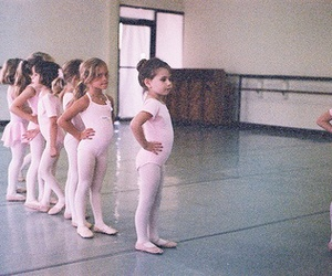 love, ballet, and children image