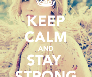 keep calm and stay strong image