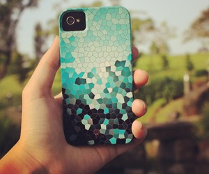blue, teal, and tiles image