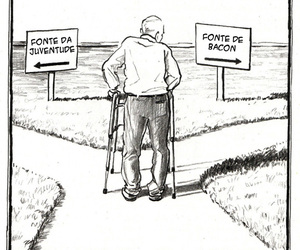 funny, awesome, and bacon image