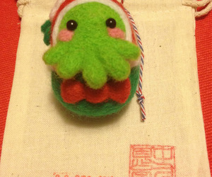 cthulu and kawaii image