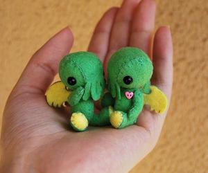 cthulu, kawaii, and plushie image