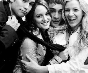 gossip girl, serena, and friends image