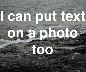 text, photo, and funny image