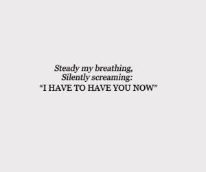 breathless, Lyrics, and sex image