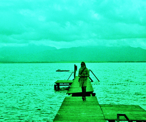 green, lomography, and photography image