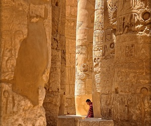 ancient egypt, egypt, and man image
