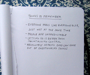 remember, text, and notebook image