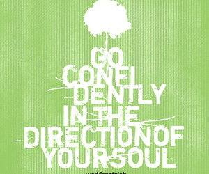 confidence, direction, and quote image