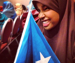 flag, somalia, and somaligirl image