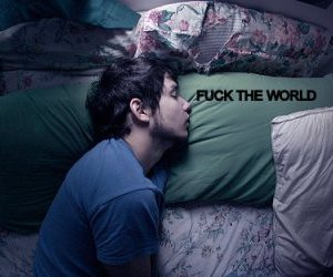 bed, fuck, and Fuck The World image