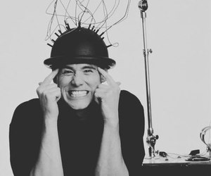 black and white, funny, and jim carrey image