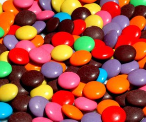 sweet, food, and m&m's image