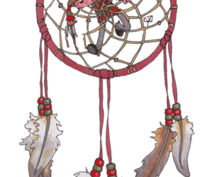 drawing, dreamcatcher, and freddy kruger image