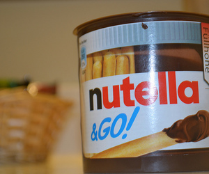 fat, food, and nutella image
