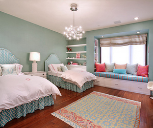 bedroom, lovely, and room image