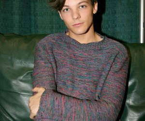 blue eyes, boo bear, and louis tomlinson image