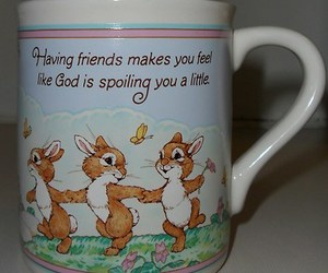 coffee cup, friendship, and inspirational image