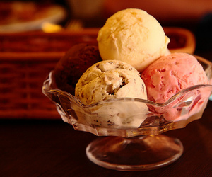 ice cream and food image