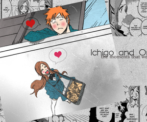 bleach, couple, and ichihime image