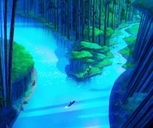 animation, disney, and magic image