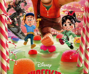 disney and wreck-it ralph image