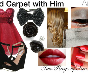 aries, red, and red carpet image