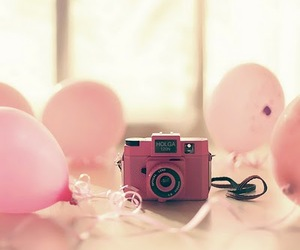 awesome, balloons, and camera image